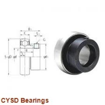 19,05 mm x 50,8 mm x 14,288 mm  19,05 mm x 50,8 mm x 14,288 mm  CYSD 1638-RS deep groove ball bearings