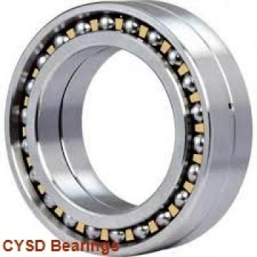 31,75 mm x 63,5 mm x 15,875 mm  31,75 mm x 63,5 mm x 15,875 mm  CYSD 1654 deep groove ball bearings