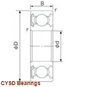 45 mm x 85 mm x 19 mm  45 mm x 85 mm x 19 mm  CYSD 6209-ZZ deep groove ball bearings