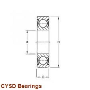 40 mm x 62 mm x 12 mm  40 mm x 62 mm x 12 mm  CYSD 6908-2RS deep groove ball bearings