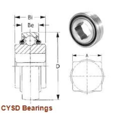 9,525 mm x 28,575 mm x 9,525 mm  9,525 mm x 28,575 mm x 9,525 mm  CYSD 1614-RS deep groove ball bearings