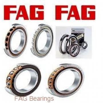 55 mm x 100 mm x 21 mm  55 mm x 100 mm x 21 mm  FAG QJ211-TVP angular contact ball bearings